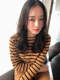 女子アナ風清楚セミディ【シナモンブランジュ】U-324