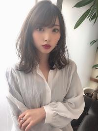 女子アナ風清楚セミディ【シナモンブランジュ】U-326