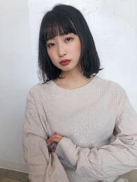 ツヤボブ ワンカールパーマ【K_73】