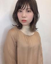 柔らかい質感外ハネくびれミディ 80 ALICe by afloat 鎌倉 彩のヘアスタイル