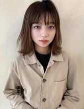 ナチュラルなニュアンスボブM361|ALICe by afloat 山岡 未夢のヘアスタイル