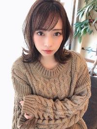 女子アナ風清楚セミディ【シナモンブランジュ】U-330