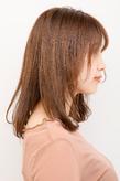 柔らかさとツヤ感を出した、自然な美髪が魅力