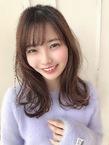 女子アナ風清楚セミディ【シナモンブランジュ】U-332