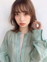 大人シースルレイヤーモテミディ|ALICe by afloatのヘアスタイル