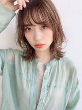大人レイヤー小顔くびれミディ|ALICe by afloat 鎌倉 彩のヘアスタイル