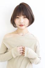 小顔見えが叶う♪美フォルムひし形ショート ALICe by afloat 鎌倉 彩のヘアスタイル