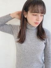 ナチュラルストレート|ALICe by afloat 高野 綾菜のヘアスタイル