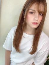ナチュラルワンカールベージュカラー|ALICe by afloat 高野 綾菜のヘアスタイル