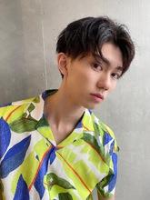 韓国風メンズ コンマヘアー|ALICe by afloatのヘアスタイル