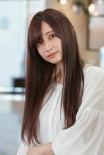 愛されツヤカラー美人ストレート ALICe by afloat 鎌倉 彩のヘアスタイル