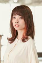ふんわりくびれツヤミディアム|ALICe by afloat 松盛 友美子のヘアスタイル