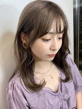 韓国風おくれ毛|ALICe by afloatのヘアスタイル