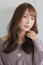 韓国風エッセンスをONした色っぽ可愛いくびれロング|ALICe by afloatのヘアスタイル