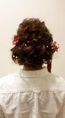 アレンジスタイル allys hair aoyamaのヘアスタイル