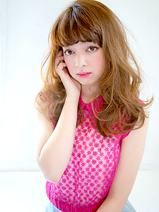 フェミニンロング|allys hair aoyamaのヘアスタイル