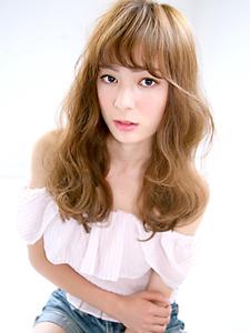 ゆるふわパーマ☆無造作ロング|allys hair aoyamaのヘアスタイル