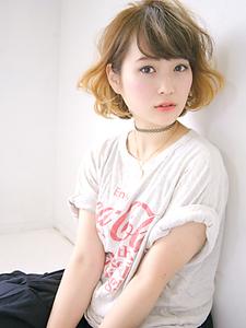 柔らかウェービーボブ|allys hair aoyamaのヘアスタイル