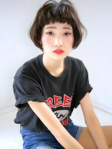 暗髪モードボブ|allys hair aoyamaのヘアスタイル