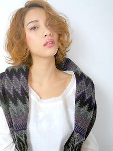 美髪外ハネボブ|allys hair aoyamaのヘアスタイル