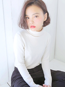 外国人風・リラックスBOB|allys hair aoyamaのヘアスタイル