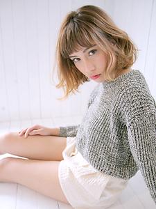モテ・愛されカールボブ|allys hair aoyamaのヘアスタイル
