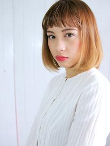 ハンサムボブ|allys hair aoyamaのヘアスタイル