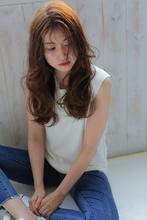 外国人風ラフウェーブ allys hair aoyama 草場 早織のヘアスタイル