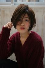大人ショートボブ allys hair aoyama 草場 早織のヘアスタイル
