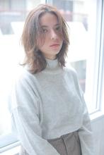 ラフな抜け感が可愛い☆ナチュラルウェーブ allys hair aoyama 草場 早織のヘアスタイル