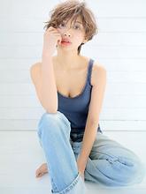 ビーチウェーブショート|allys hair aoyamaのヘアスタイル