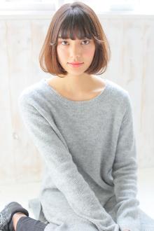王道アッシュグレージュボブ|allys hair aoyamaのヘアスタイル