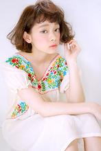 クセ毛風カールボブ|allys hair aoyamaのヘアスタイル
