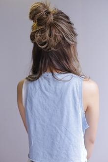 おだんご×ウェットウェーブ|allys hair shinsaibashi OPAのヘアスタイル