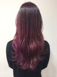 艶感UP☆マニパニベリーピンクカラー
