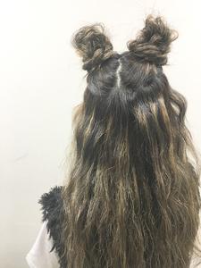 ツインアレンジ★|allys hair shinsaibashi OPAのヘアスタイル