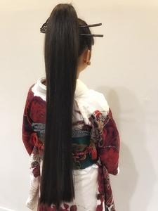 超ロングエクステ一束☆|allys hair shinsaibashi OPAのヘアスタイル