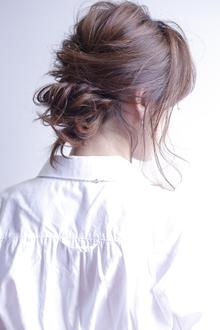 ヘアセット(ナチュラル)|allys hair shinsaibashi OPAのヘアスタイル