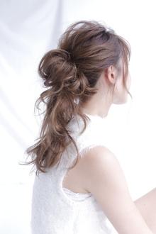 ヘアアレンジ×1|allys hair shinsaibashi OPAのヘアスタイル