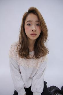 ナチュラルスィートカール|allys hair shinsaibashi OPAのヘアスタイル