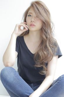 かきあげ大人グラムロング|allys hair shinsaibashi OPAのヘアスタイル