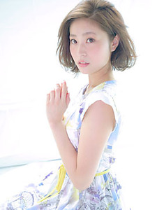 ニュアンスBOB|allys hair shinsaibashi OPAのヘアスタイル