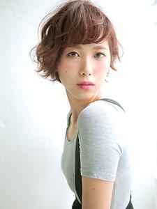 大人ショート|allys hair shinsaibashi OPAのヘアスタイル