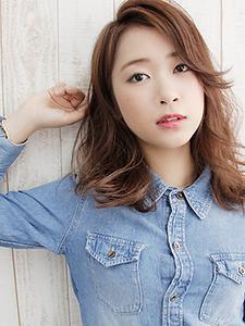 ナチュラルウエーブ|allys hair shinsaibashi OPAのヘアスタイル