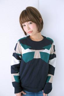 ナチュラルボブ|allys hair shinsaibashi OPAのヘアスタイル