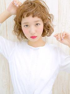 ふわふわウエーブ|allys hair shinsaibashi OPAのヘアスタイル