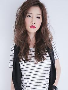 【ナチュラル大人女子に!】ゆるふわパーマヘア allys hair shinsaibashi OPAのヘアスタイル