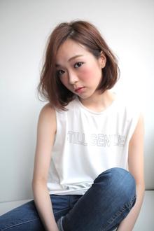 おとな可愛いヘルシーボブ|allys hair shinsaibashi OPAのヘアスタイル