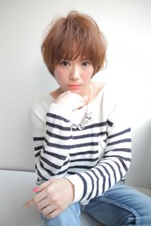 シースルー小顔ボブ allys hair shinsaibashi OPAのヘアスタイル