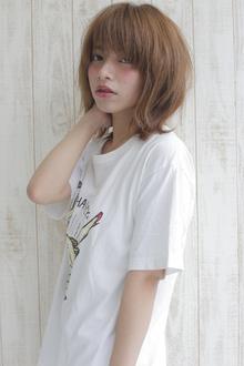 ナチュラルミディ allys hair shinsaibashi OPAのヘアスタイル